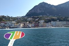 Capri with full Boat Ride around the Island & 6 Hours Stop on the Islan