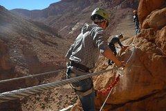 Todgha Gorge Via Ferrata in Morocco from Tizgui