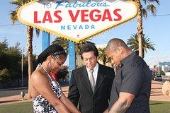 Las Vegas Sign Wedding and Rolls Royce Photo Tour Combo