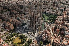 Barcelona Full Panorama city tour  Gaudi and Sagrada Familia with a Van