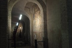 semiprivate tour of St. Clement's Basilica and Roman Houses of Caelian Hill