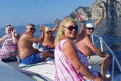 Private Boat Tour from Sorrento: Capri and Baia di Ieranto in Marine Protected Area of Punta Campanella