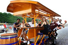 Prague: 2- Hour Beer Bike with Unlimited Czech Beer