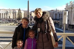 Private Vatican & Sistine Chapel Tour for Kids & Families w hotel pickup in Rome