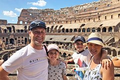 Private Colosseum & Roman Forum Tour for Kids & Families w hotel pi