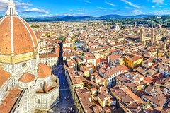 Florence Dome climbing city view hotel pickup & Guided Sightseeing Walking Tour