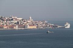 Imagen Recorrido en bicicleta eléctrica de 3 horas a Cristo Rey al sur de Lisboa