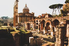 Ver la ciudad,City tours,Tours temáticos,Theme tours,Tours históricos y culturales,Historical & Cultural tours,Coliseo,Colosseum,Foro Romano,Forum,Con Coliseo y Monte Palatino