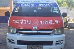 Standard Minivan: Bangkok to Hua Hin