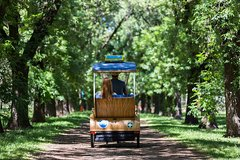 Adelaide 90-Minute Pedicab Tour: Scenic Green & River Experience