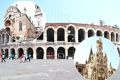 Verona Private City Tour including Arena and Funicular for Kids and Familie