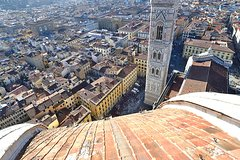 Florence Dome Climb & Private Guided Sightseeing Walking Tour with Hote