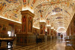 VATICAN MUSEUMS, SISTINE CHAPEL, BASILICA OF SAN PIETRO