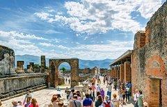 Pompeii and Amalfi Coast from the port of Salerno