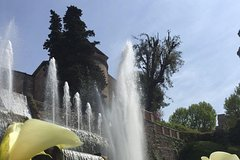 Tour to Tivoli, villa dEste, half day from Rome