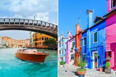 VIP Venetian Island Tour by Luxury Water Taxi: Murano, Burano & Torcello
