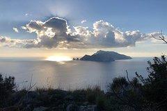 Private Trekking - Sorrento Coast Punta Campanella Capri view