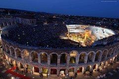 Transfer from Lake Garda to Verona Arena and Opera Ticket