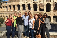 Pre-Cruise tour in Rome: Colosseum, the Roman Forum and Palatine Hill