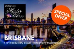 BRISBANE - 4 Hr Introductory Travel Photography Masterclass