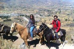 Salir de la ciudad,Salir de la ciudad,Actividades,Excursiones de más de un día,Excursiones de más de un día,Actividades de aventura,Salidas a la naturaleza,Excursión a Cañón del Colca,Con paseo en caballo
