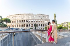 Experience Rome Like Never Before - Private Pro Photoshoot at The Coliseum