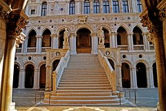The Doge's Palace, old Royal Palace and the Grand Canal by gondola (skip the line)