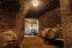 Frascati Wine Tour Experience with Lunch in Small Group by Minivan from Rome