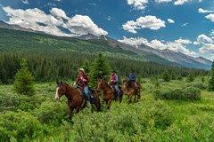Banff Canadian Rockies 3-Day Stoney Creek Backcountry Tent Trip by Horseback 12217P11