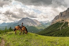 Banff Canadian Rockies 6-Day Cascade Valley Backcountry Tent Trip by Horseback 12217P12