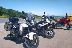 Tuscany Motorcycle Tour of Seaside and Volterra