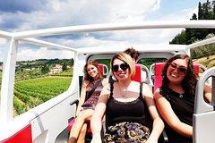 """""""Hop on"""" Chianti wine tour"""