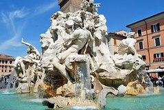 Walking Tour of Rome City Center Must-See Sites Pantheon Trevi & Spanish Steps