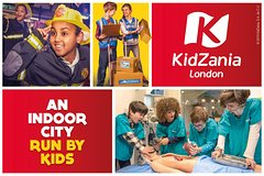 Imagen KidZania London Entrance Ticket Off Peak Flexi