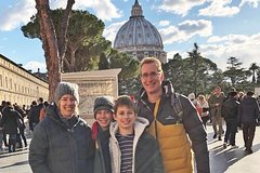 Vatican For Kids Tour with Sistine Chapel and St. Peters Basilica Fast Acce