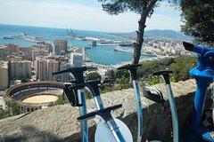 Imagen Segway Málaga City and Gibralfaro tour