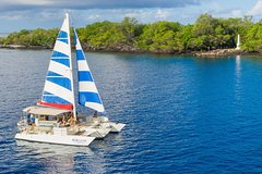 Keauhou Hawaii Afternoon Sail & Snorkel Captain Cook Monument at Kealakekua Bay 72709P2