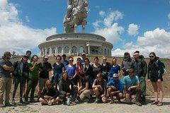 Day trip Terelj National Park-Statue of Chinggis Khaan