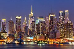 Panoramic Night Tour New York : Brooklyn Heights and Hamilton Park by BUS