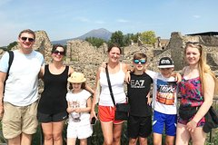 Kid-Friendly Shore Excursion from Naples to Pompeii and Amalfi Coast
