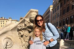 Squares & Fountains Treasure Hunt in Rome for Kids around Trevi & P