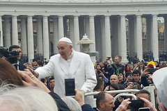 Imagen Half-Day Papal Audience in St. Peter's Square with a Guide