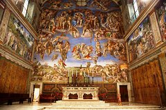 Exclusive First Entry Sistine Chapel Tour & Vatican Museums