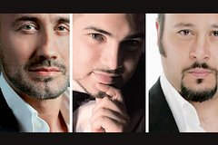 The Three Tenors at Caravita Church from April 2018