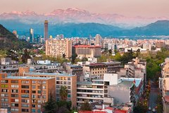 Santiago Shore Excursion: Post-Cruise City Tour with Hotel or Airport Drop-Off Private Car Transfers