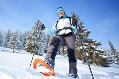 Snowshoeing Tours in the Dolomites from Brunico
