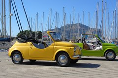 Palermo Sightseeing with fiat 500 vintage !!!