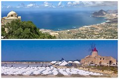 Private Marsala Wine Tour, Erice and Salt Flats - from Palermo with Local Guide