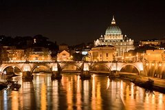 Rome by night with pizza&gelato included