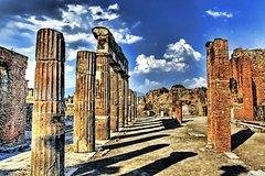 Full day tour to Pompeii with guides, Sorrento, Positano from Naples / Salerno / Amalfi
